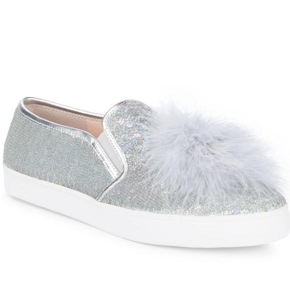 Kate SpadeCoby Slip-On SandalsSilver